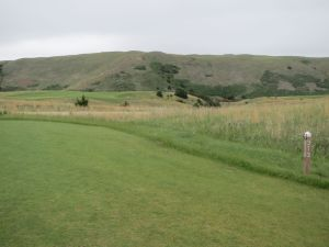 The 9th hole at the Dismal River Golf Club in Mullen, NE
