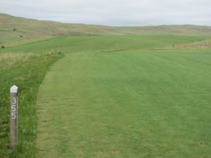 The 12th hole at the Dismal River Golf Club in Mullen, NE