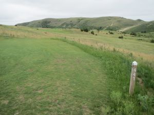 The 13th hole on the Doak course at the Dismal River Golf Club in Mullen, NE