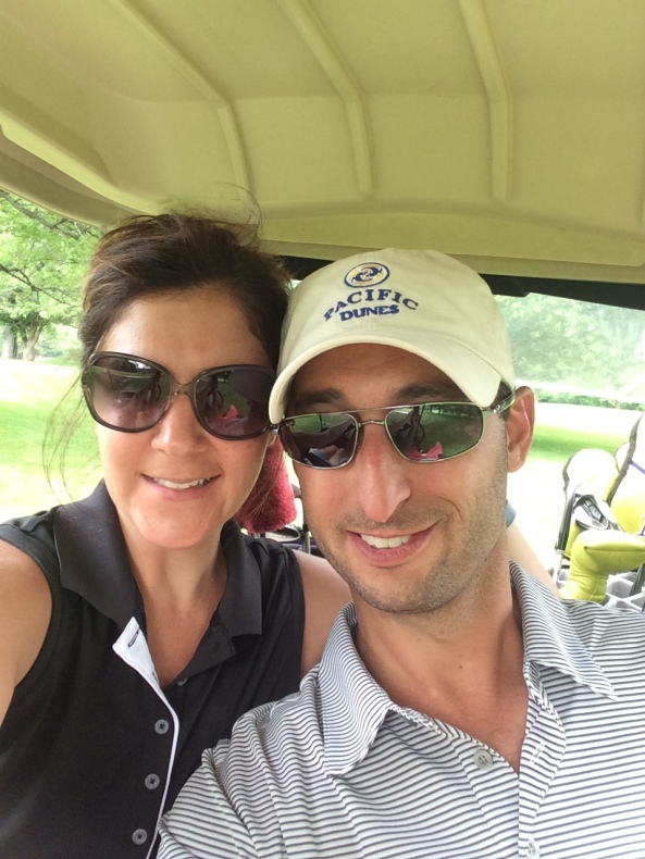 My girlfriend, Kelly, and me at my home course of North Hills Country Club in Menomonee Falls, WI