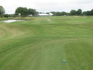 Cotton Creek hole# 18: Par 4 (434/405/370/315)