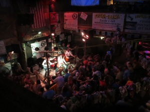 Country bar area at FloraBama on the border of Florida and Alabama in Gulf Shores