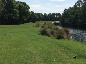Marsh course at Peninsula Golf Club in Gulf Shores, Alabama