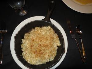 Crab mac and cheese entree at P2O5 restaurant at Streamsong Resort