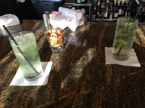 Mojitos at the 59 restaurant at Streamsong Resort