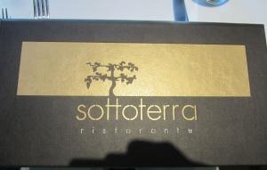 Menu at Sottoterra Ristorante at Streamsong Resort