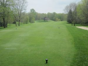 West Bend CC Hole 16: Par 4 (386/375/341/329)