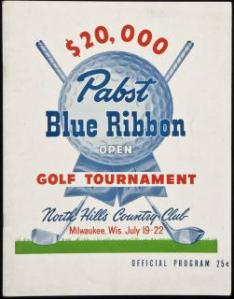 1951 Pabst Blue Ribbon Open flyer