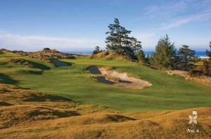 2nd hole on the Bandon Preserve 13-hole par 3 course (photo courtesy of Bandon Dunes website)