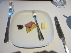 Pre-dinner taste at SottoTerra at Streamsong Resort