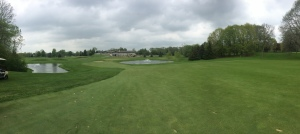 Panoramic photo from the 18th fairway at West Bend CC