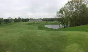 West Bend CC Hole 9: Par 4 (471/445/410/395)