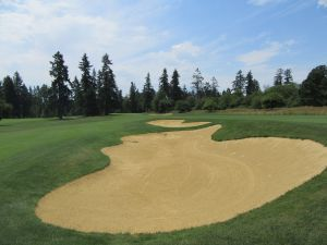 Witch Hollow hole 9: Par 4 (467/427/398/388/353)