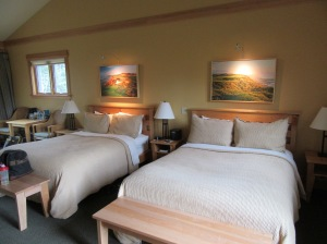 Standard 2-bed room in the Lily Pond cottages at Bandon Dunes Golf Resort