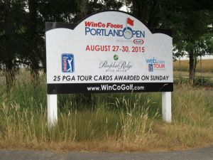 Witch Creek plays host to the annual Web.com Portland Open golf tournament