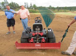 Bill Coore's Sand Pro greenshaper