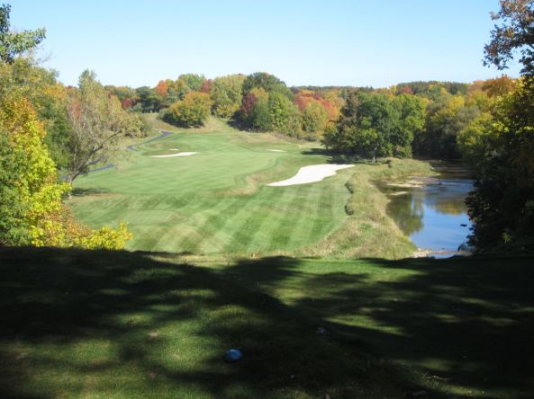 Blackwolf Run, River course hole 5