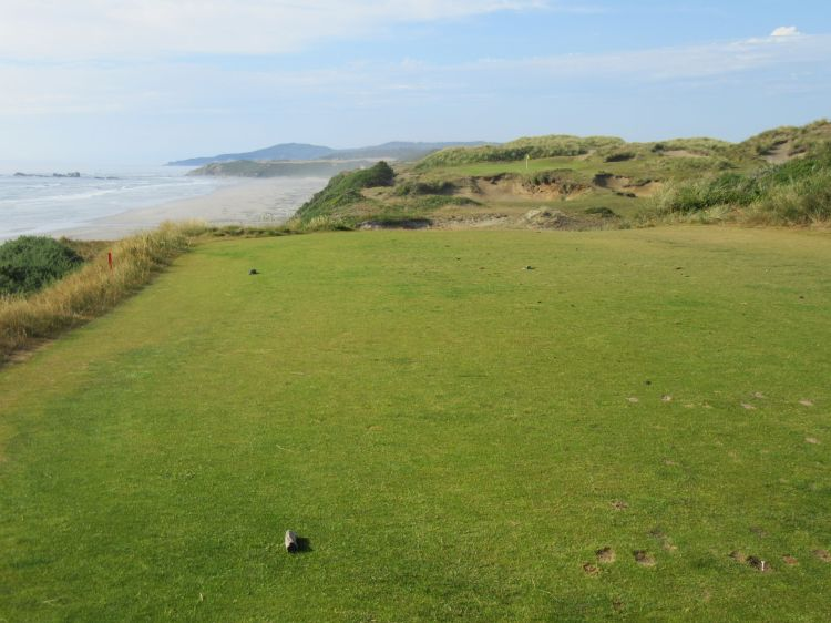 Pacific Dunes hole 11