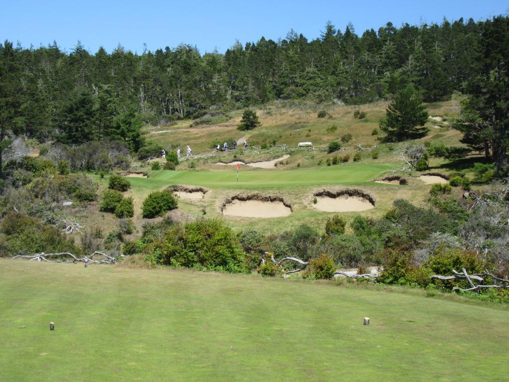 Bandon Trails hole 5