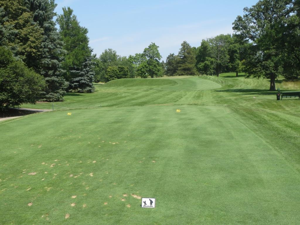 Ozaukee Country Club hole 14