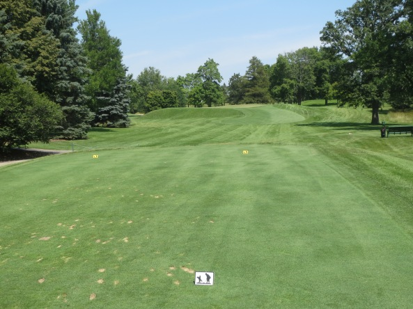 Ozaukee Country Club hole 14