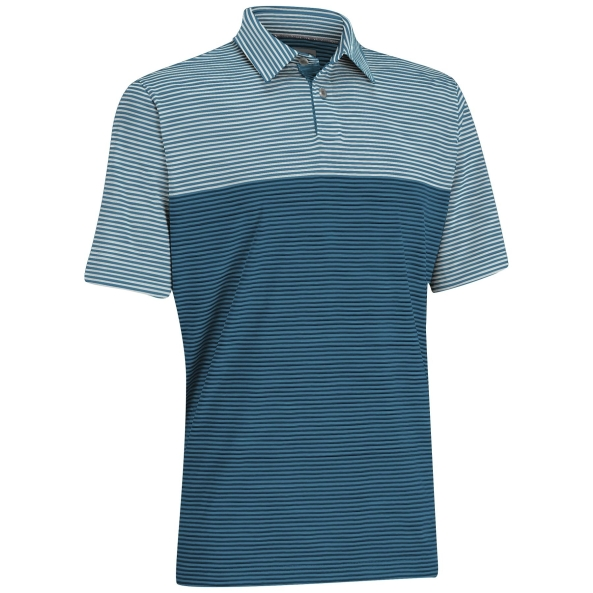 Ashworth EZ-SOF Blocked Stripe Polo