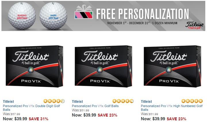 Custom Golf Balls
