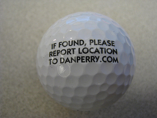 "Dan Perry: ""Find a Golf Ball?"""