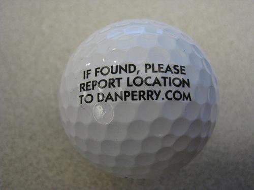 "Dan Perry: ""Find a Golf Ball?"""