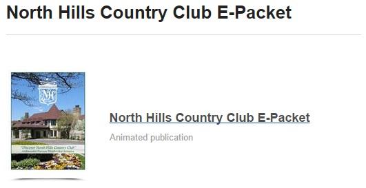 NHCC e-packet