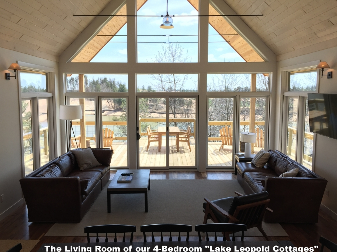 Lake Leopold Cottages Great+Room