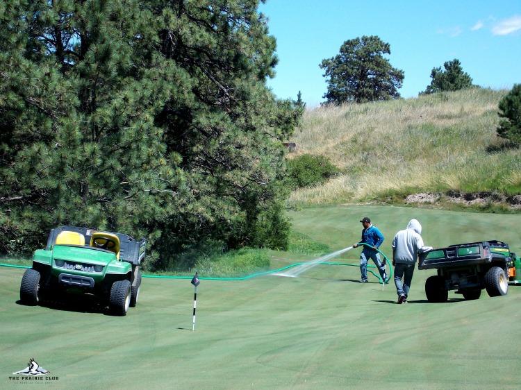 Old Wagon putting course - The Prairie Club